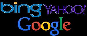 Otimizamos seu site para o Google, Bing e Yahoo